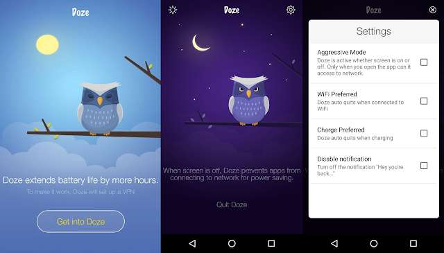 "Marshmallow's Battery-Saving Feature "" Doze "" now Available for Android 4.1+"