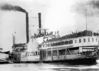 1865 : Steamboat Sultana Explodes and Burns on Mississippi