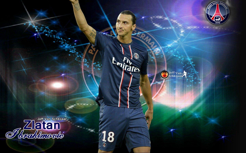 Zlatan Ibrahimovic Wallpapers PSG 2013 HD