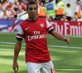 Santiago Cazorla, Arsenal midfielder
