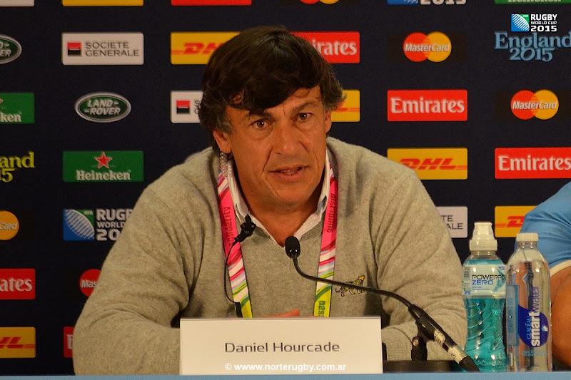 Daniel Hourcade, entrenador de Los Pumas.