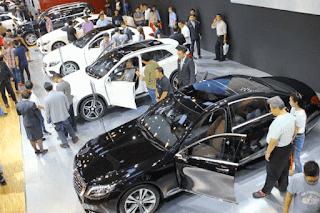 Peluncuran mobil baru dalam pameran tahunan ini memanglah jadi kiat menggaet konsumen. Peristiwa itu walau cuma lebih kurang 10 hari seperti musim panen untuk pabrikan mobil.
