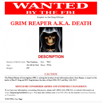 Wanted by the FBI - Grim Reaper
