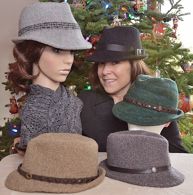 The Knitting Needle and the Damage Done: Head Turning Hats