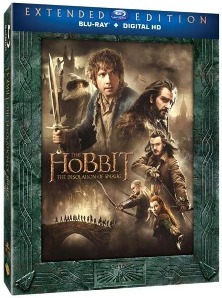 Blu-ray O Hobbit: A Desolação de Smaug