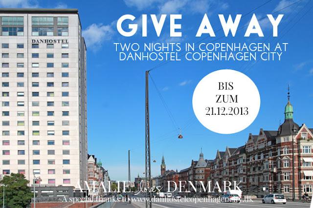 Amalie loves Denmark GIVE AWAY Danhostel Copenhagen City