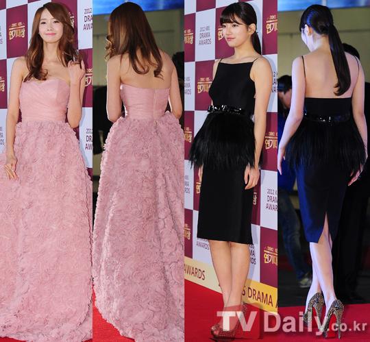 Yoona Suzy 2012 KBS Drama Awards