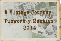 Proud to be A Vintage Journey Pinworthy July 2014