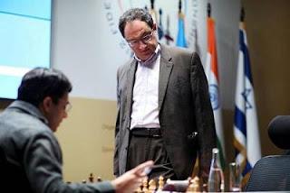Echecs à Moscou : l'Israélien Boris Gelfand - Photo © Chessbase