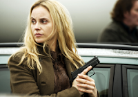 Saga Noren, the lead character in Scandinavian TV crime drama The Bridge.