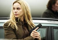 Saga Noren, the lead character in Scandinavian TV crime drama The Bridge.