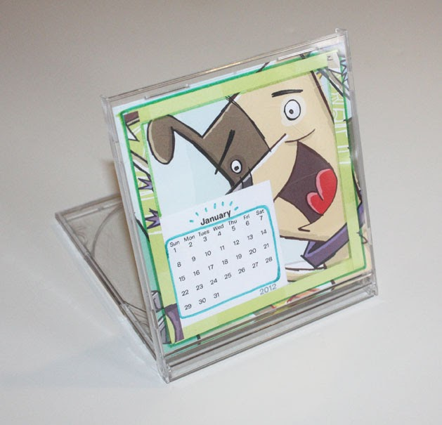 Diy Recycle Calendar : Replayground recycling with a twist create cd jewel