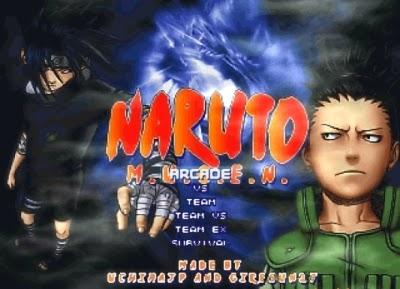 Naruto Battle Arena M.U.G.E.N. - Link Direto - PC