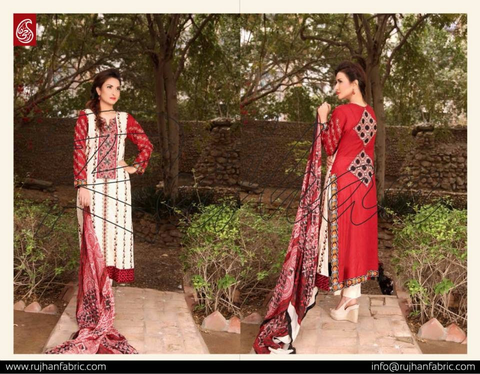 Rujhan Minahil Summer Lawn Collection 2015