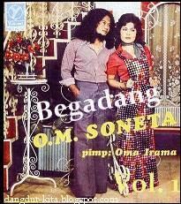 Cover Album Soneta Volume 1 (Begadang) tahun 1973