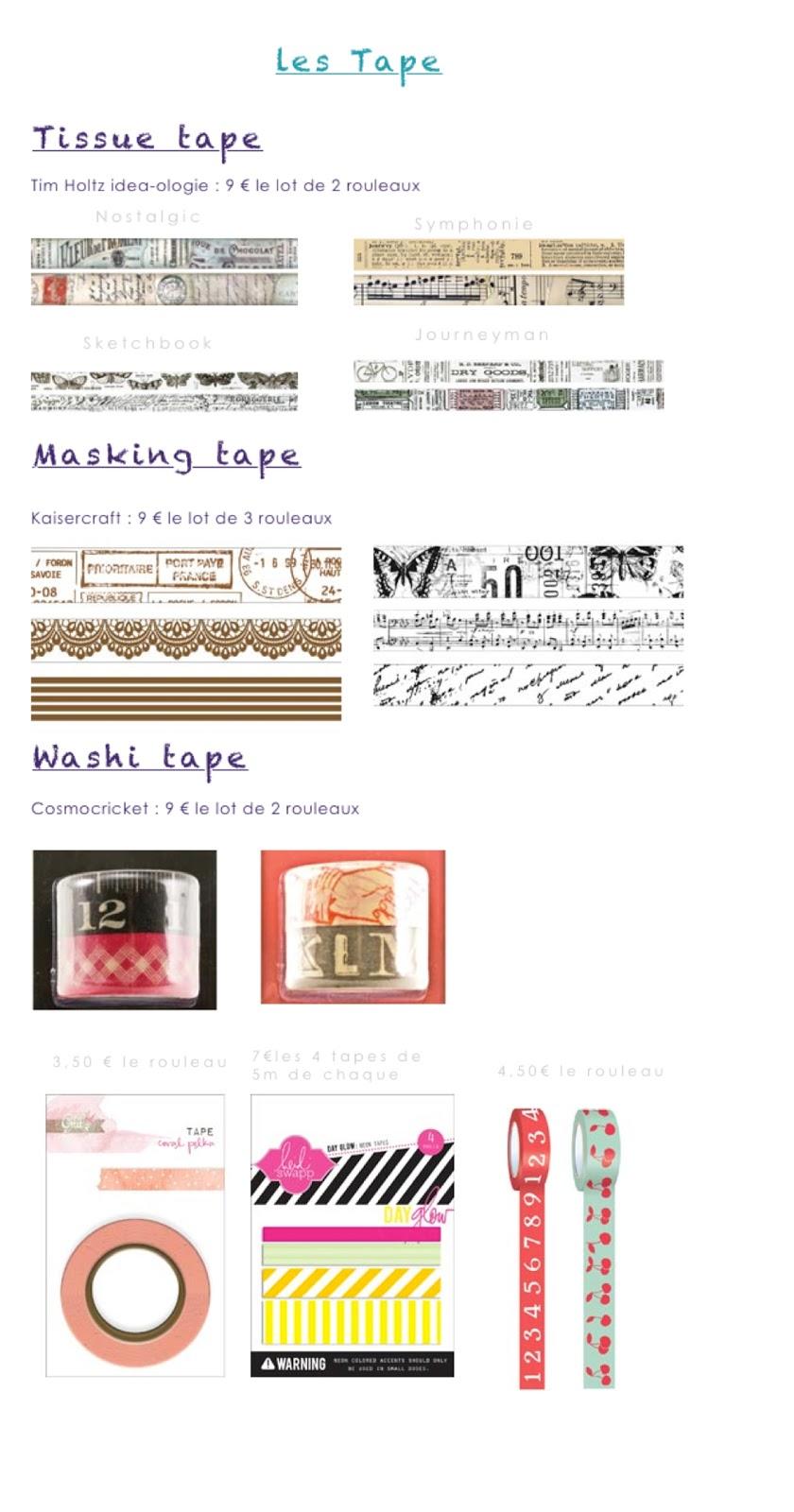 l 39 atelier des 10 doigts le blog de la boutique les masking tape. Black Bedroom Furniture Sets. Home Design Ideas
