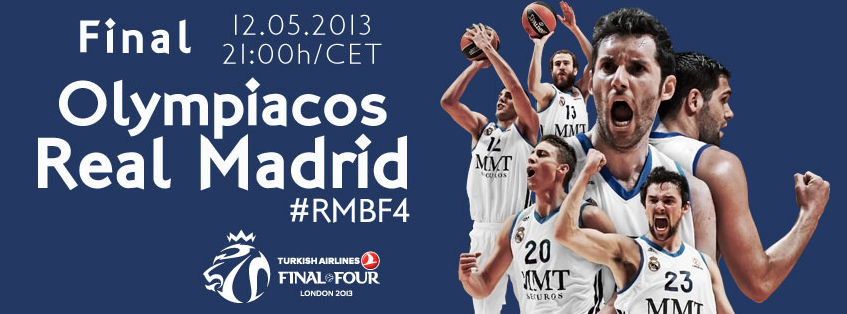 FINAL EUROLIGA BASKET: Real Madrid - Olympiakos Final