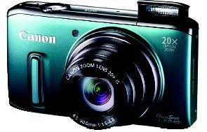 Canon SX260HS  Review