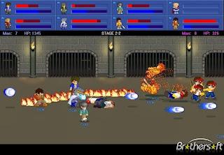 صورة من داخل لعبة المقاتل الصغير