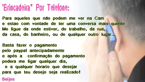 Por Telefone