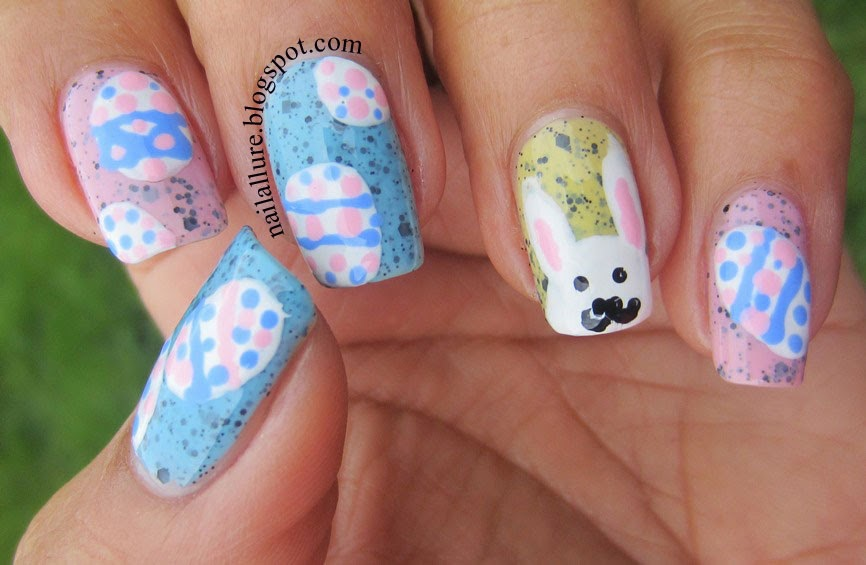 Easter Eggs & Bunny Nails