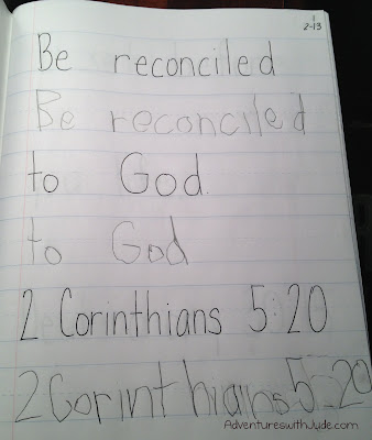 Be reconciled to God 2 Cor 5:20