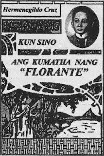 Kun Sino ang Kumatha nang Florante