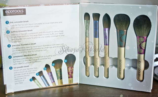 Eco Tools Fresh&Flawless Complexion Brush Set 13.28$