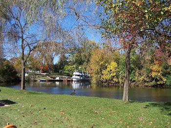 The Swannie River at Greefield Villiage, Dearborn Mi.