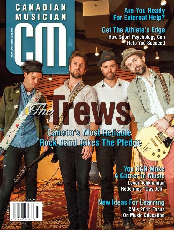 Image result for canadian musician magazine