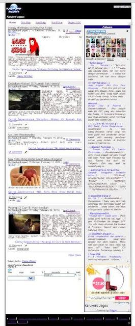 Blogspot Template Generator