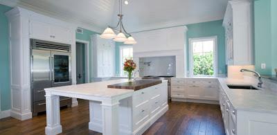 home interior designs modern kitchen with wood floors - Modern Kitchen Looks
