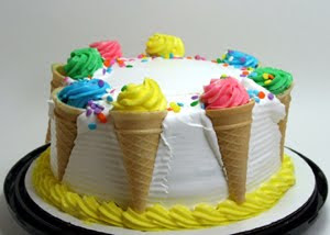 Special Ice Cream Birthday Cake
