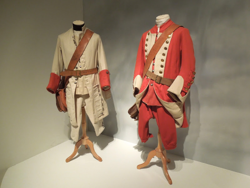 Barry Lyndon French British regimental soldier movie costumes