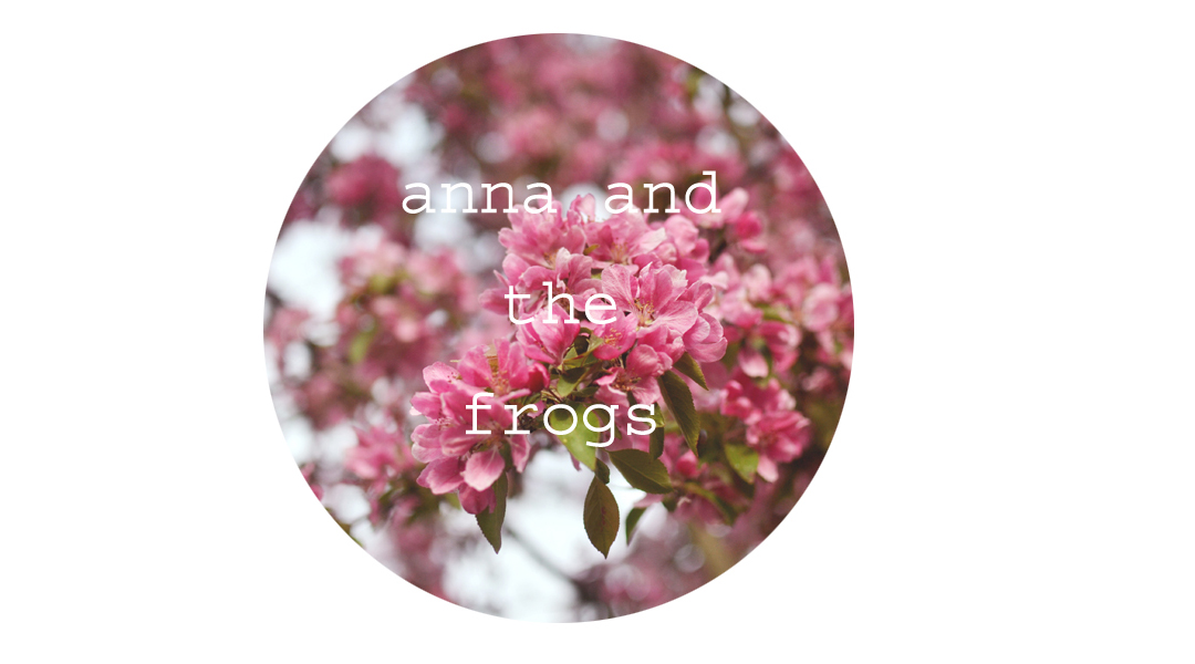 anna and the frogs