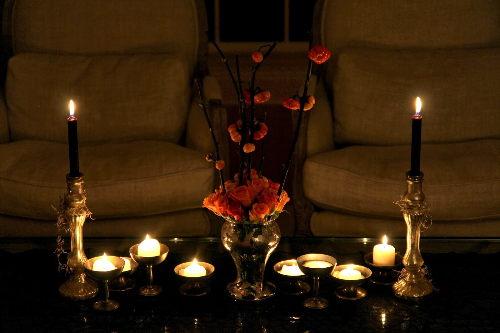 Coffee Table for Halloween; Hauntify Your House