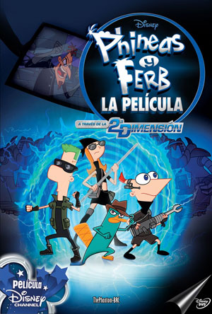 Download Phineas Y Ferb A Traves De La Segunda Dimension 2011 Español