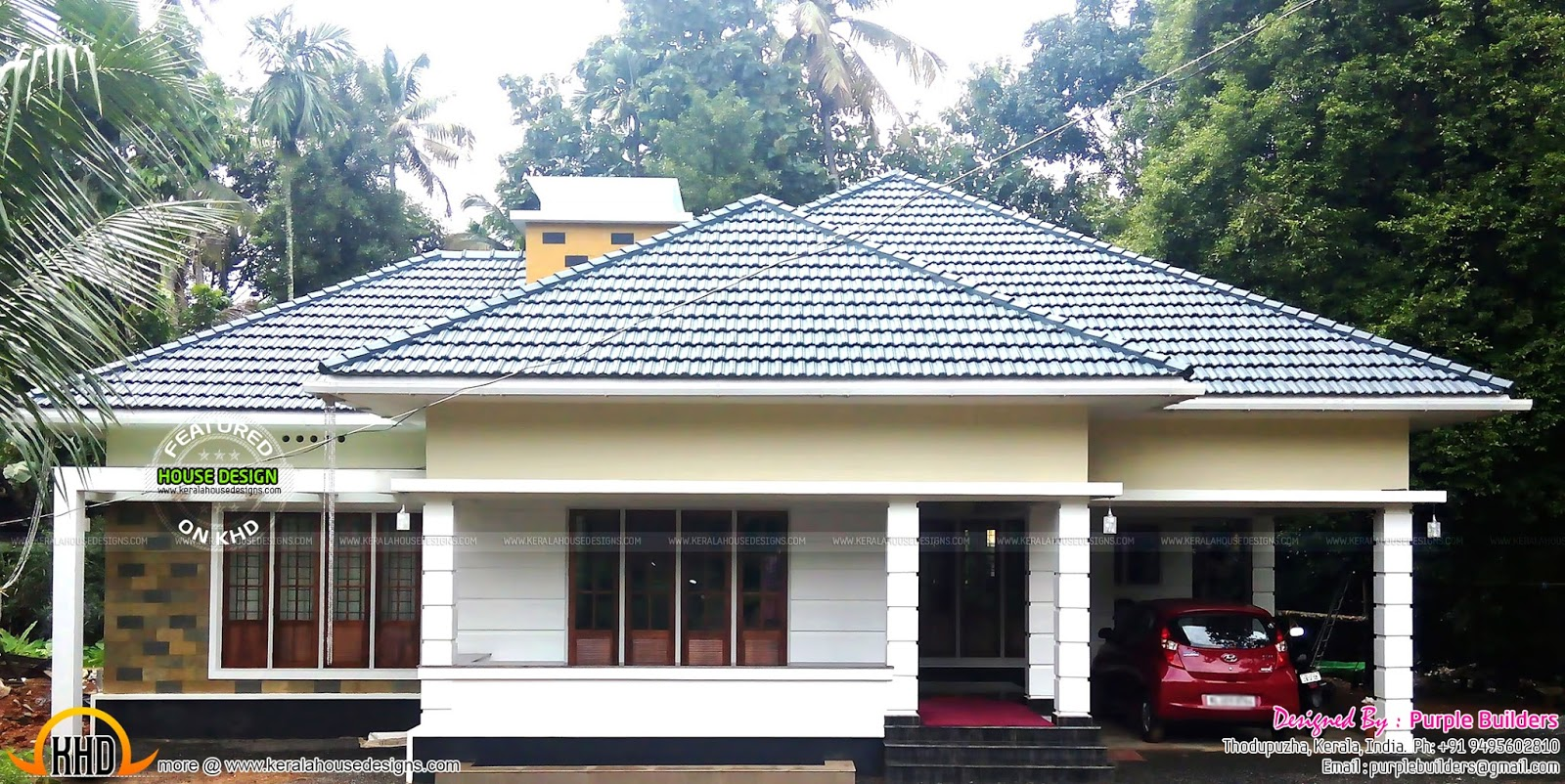 House construction thodupuzha kerala kerala home for Kerala house construction plans