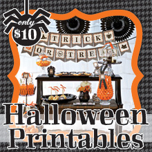 Eerie & Cheery Halloween Printable Collection