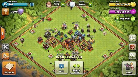 clash of clans unlimited mod/hack v7.200.19 apk ultimate