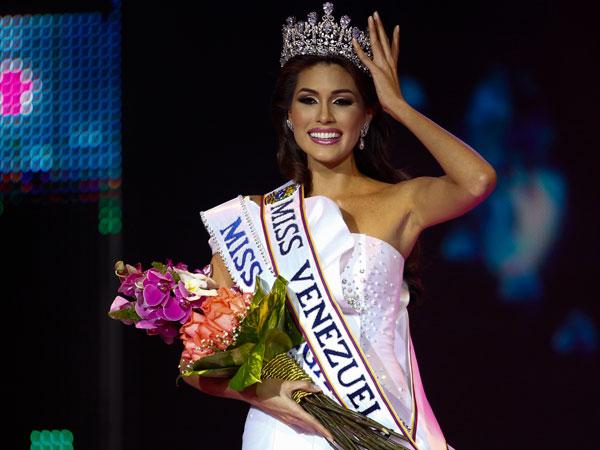 Maria Gabriela de Jesus Isler Morales was crowned Miss Venezuela 2012