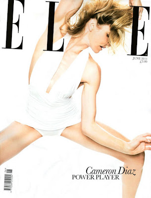 Cameron Diaz Elle UK Magazine Wallpapers