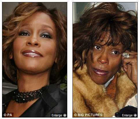 Foto de whitney houston nas drogas 63