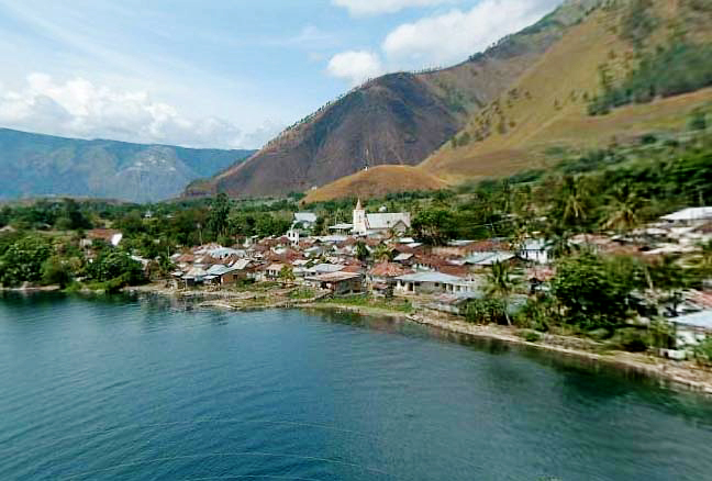 Gambar pemandangan: Pemandagan danau toba
