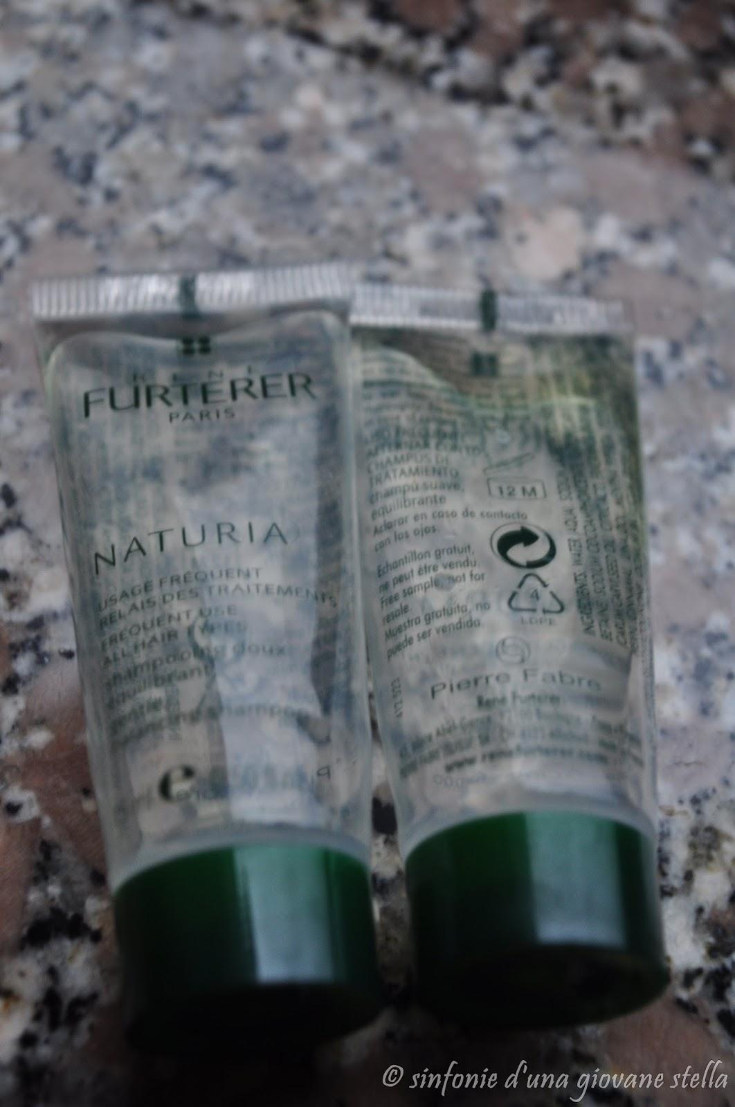 review ● rené furterer naturia shampoo delicato