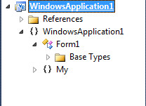 Window Project Visual Basic 2010