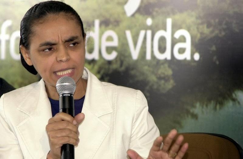 Marina diz que Dilma e Mantega serão demitidos pelo povo