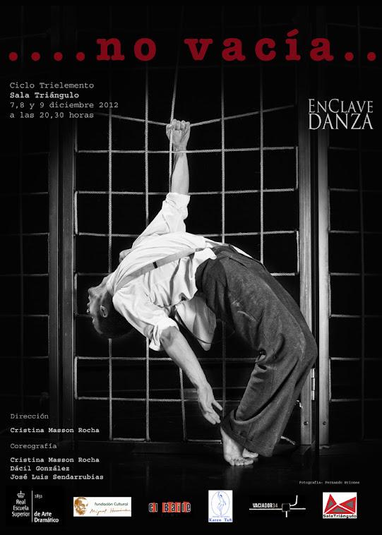 Con EnClaveDanza, Compañía de Danza  Contemporánea.