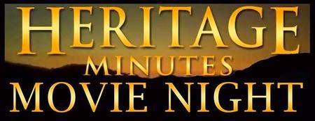 Heritage Minutes Movie Night logo