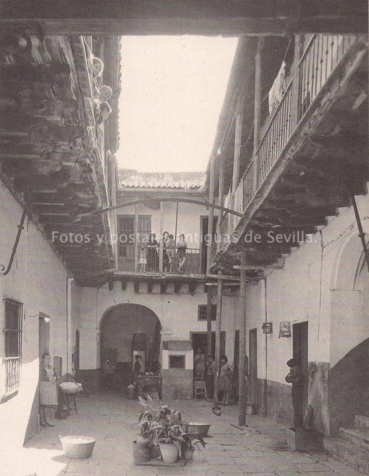 Fotos y postales antiguas de sevilla corrales de vecinos y ventas - Arquitectura tecnica sevilla ...